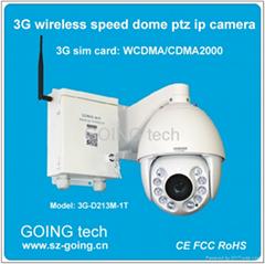 GOING 3G sim card wireless hd ir speed dome PTZ ip camera
