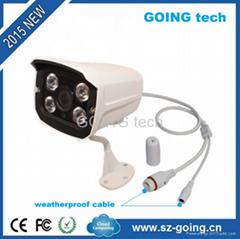 Cheap h.264 outdoor ir waterproof hd 720p p2p ip camera