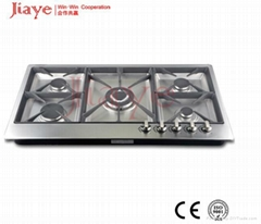 New technology kitchen appliance 5 burner gas cooker hob JY-S5072