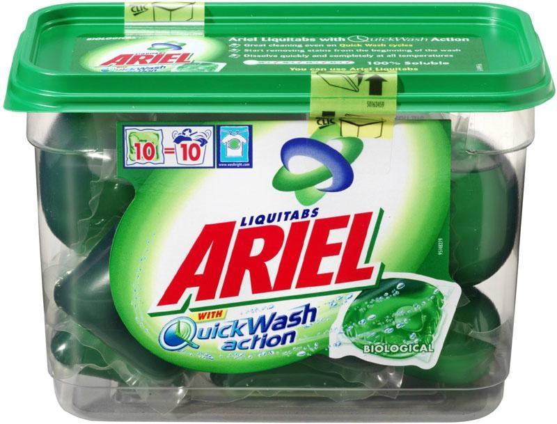 Ariel 400g Washing Powder Tide Washing Powder Lenor Fabric Softener 1