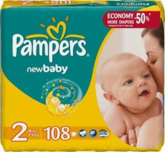 Pampers newborn Diapers, Pampers Giga Pack Mini
