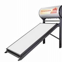Non Pressurized Flat Plate Solar Water Heater