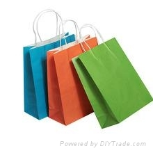 custom color shopping bags printing