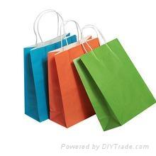custom color shopping bags printing