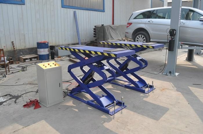 In-ground car lift 5