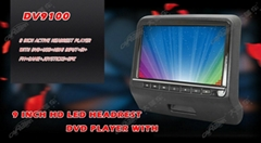 9 Inch HD LED Headrest D