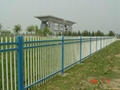 New Design Spear Top Fencing Hot Sale, no climb fence Modern Iron Gates models o