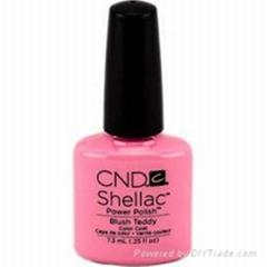 CND Shellac Power Nail Polish, Blush Teddy - 0.25 fl oz bottle