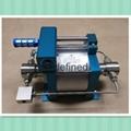 超高压双头型大流量气液增压泵