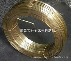 紫铜扁线厂家,紫铜线压扁加工 2