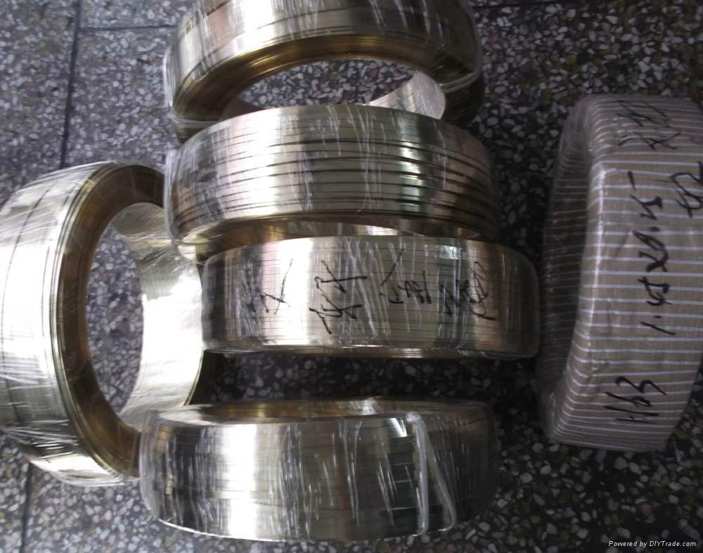 紫铜扁线厂家,紫铜线压扁加工 5