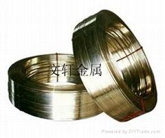 供應加工定做各類規格黃銅扁線