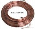 供应定做加工各类红铜扁线