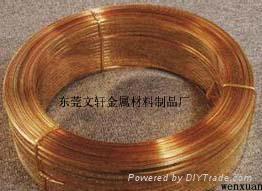 供应定做加工各类红铜扁线 4