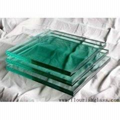 夾膠玻璃 6mm+1.52pvb+6mm 尺寸890*480