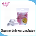 Factory Sale Disposable Kids Underwear