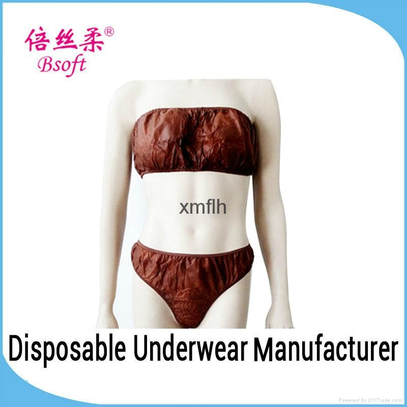 ccd2043603 Disposable Panties Bra Set Ladies Underwear Sexy Bra And Panty New Design 1  ...