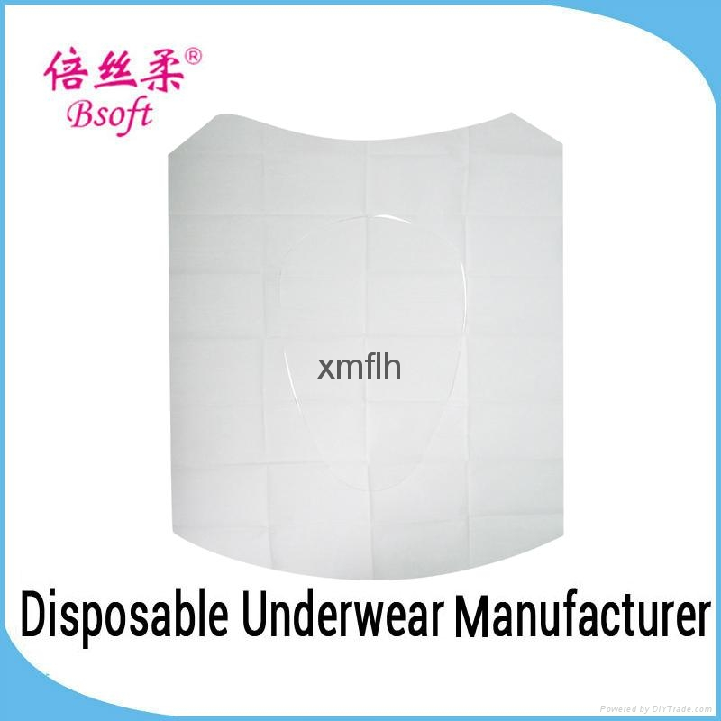 Hotel Sanitary Disposable Tissue Paper Toilet Seat Covers 2
