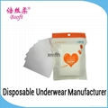 Hotel Sanitary Disposable Tissue Paper Toilet Seat Covers 1