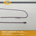 Hot Sale Metal Bead Chain Necklace Ball