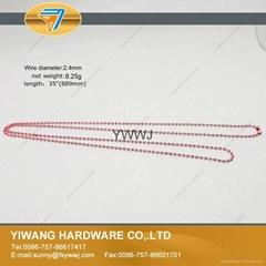 厂家现货 供应多规格环保金属珠链 彩色珠链 金属铁珠链