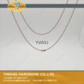 厂家现货 供应多规格环保金属珠链 彩色珠链 金属铁珠链 4