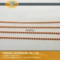 厂家直销 环保铁珠链 彩色服装吊牌铁珠链 挂件铁珠链子批发 6
