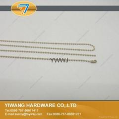 质量保证金属彩色波珠链 标牌挂链 环保标牌珠链批发