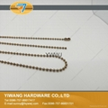 Hot sale Metal Ball Chain Necklace Color