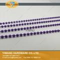 厂家直销批发高品质 金属珠链吊牌绳 镀镍不褪色 金属饰品链 2