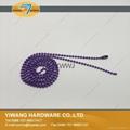 厂家直销批发高品质 金属珠链吊牌绳 镀镍不褪色 金属饰品链 3