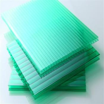 XINHAI 100%resin material hollow polycarbonate sheet roof sheets price per sheet 1