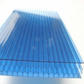 Pc Hollow Flat Sheet Plastic Honeycomb Panel Polycarbonate Panel 2
