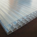 Pc Hollow Flat Sheet Plastic Honeycomb