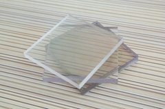 Clear Polycarbonate Plastic Shower Wall