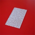 XINHAI High Quality Polycarbonate Embossed Solid Bathroom Wall Panels 3