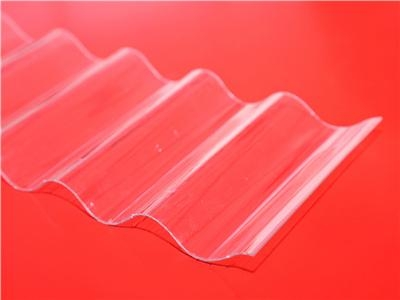 XINHAI transparent roofing clear corrugated plastic sheets 4x8 5