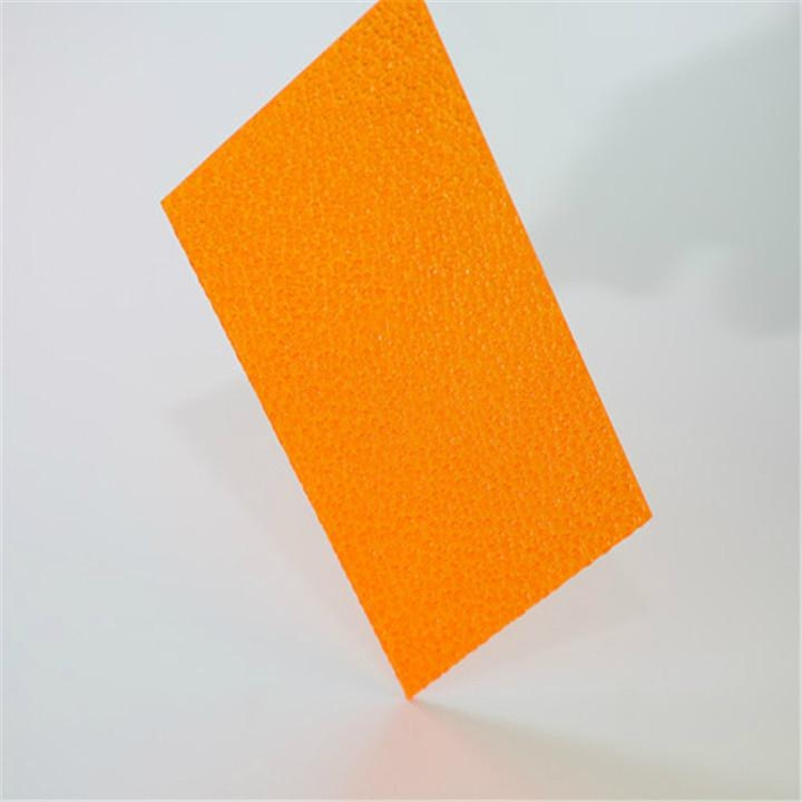 XINHAI colored polycarbonate sheet solid embolssed sheet - China -