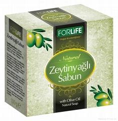 Natural Olive Oil Soap 140 gr Solid Bar Turkish Olive Oil Soap