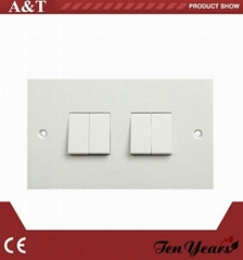 10A 2-G 2-W 250V Light Switch