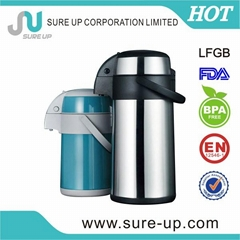 Pump stainless steel coffee vacuum pot (ASUC)