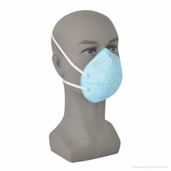 Rdiation free disposable dust face mask/respirator