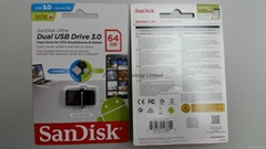 SanDisk 64GB Ultra OTG USB 3.0 Retail Packing