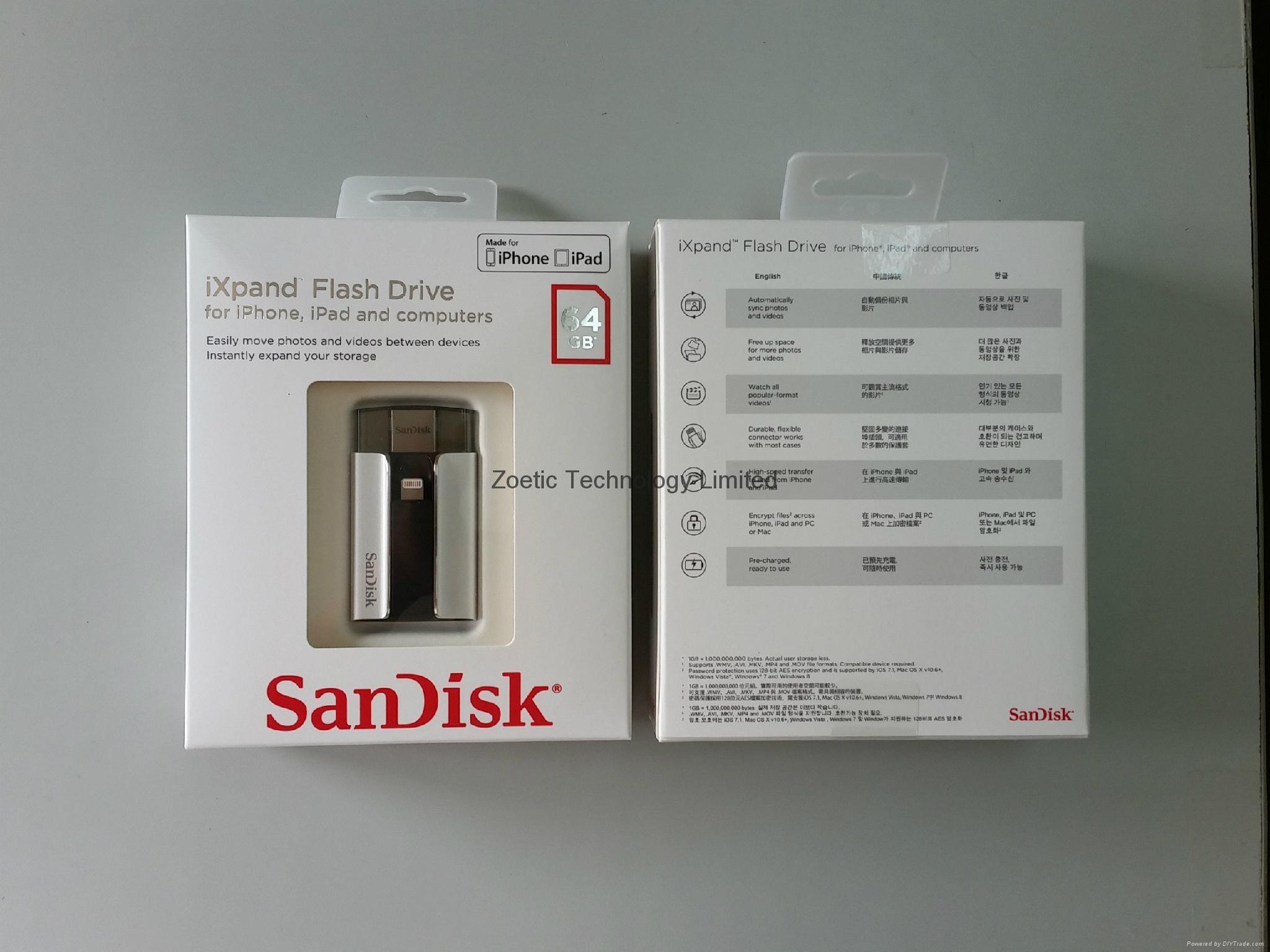 SanDisk閃迪 64GB 蘋果手機U盤 1