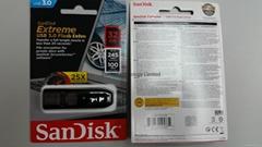 SanDisk 32GB Extreme USB 3.0 Flash Drive R245Mbs W100Mbs