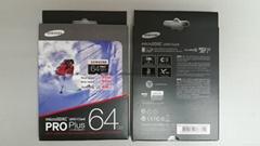 Samsung 64GB PRO Plus Micro SDXC UHS-1 Class10 R95Mb/s W90Mb/s