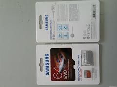 Samsung 64GB EVO Plus Micro SDXC Class 10 UHS-1 R:80Mb/s W:20Mb/s