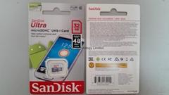 SanDisk 32GB Ultra Micro SDHC Class 10 48Mbs