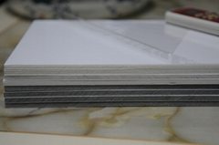 0.6cm自粘相框背板 灰色白色