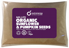 Milled Organic Sunflower & Pumpkin Seeds